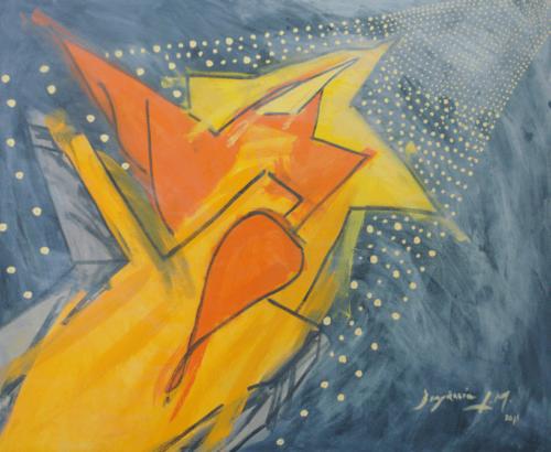 Holy Flight Through The Night Into Heavenly Light